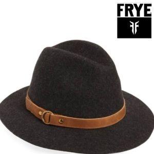 🎁 Frye Felt Tall Crown Fedora Hat